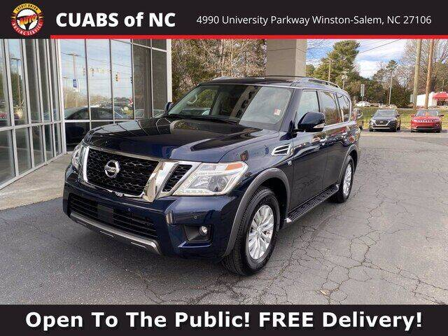 2019 Nissan Armada for sale at Summit Credit Union Auto Buying Service in Winston Salem NC