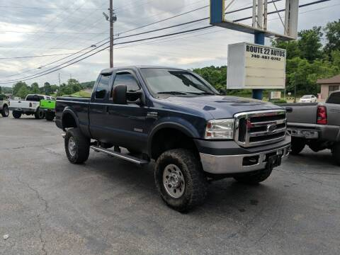 2005 Ford F-250 Super Duty for sale at Route 22 Autos in Zanesville OH