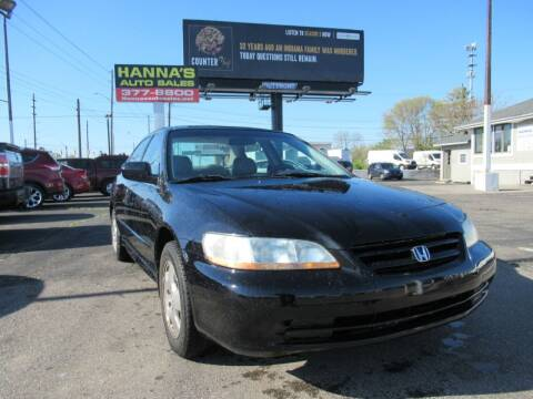 2001 Honda Accord for sale at Hanna's Auto Sales in Indianapolis IN