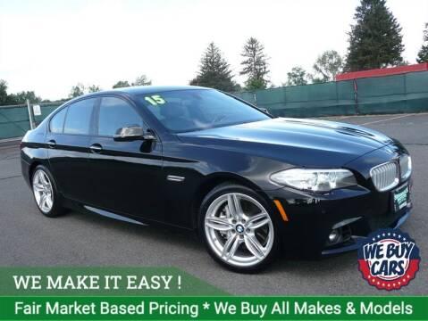 2015 BMW 5 Series for sale at Shamrock Motors in East Windsor CT