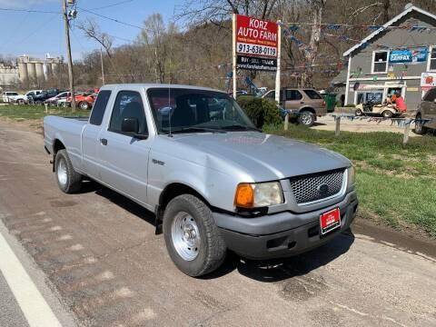 2002 Ford Ranger for sale at Korz Auto Farm in Kansas City KS