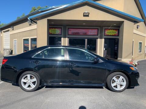 2013 Toyota Camry for sale at Advantage Auto Sales in Garden City ID