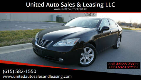 2009 Lexus ES 350 for sale at United Auto Sales & Leasing LLC in La Vergne TN
