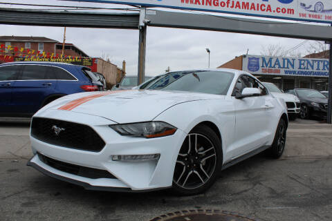 2020 Ford Mustang for sale at MIKEY AUTO INC in Hollis NY