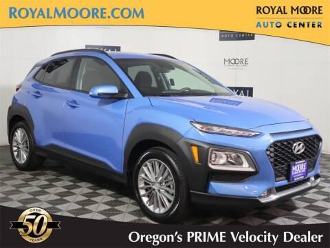 2021 Hyundai Kona for sale at Royal Moore Custom Finance in Hillsboro OR