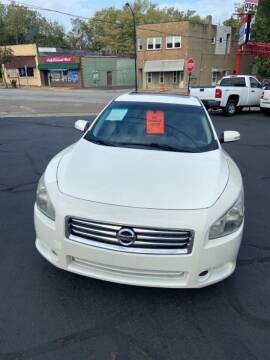 2012 Nissan Maxima for sale at North Hill Auto Sales in Akron OH