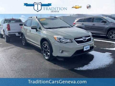 2015 Subaru XV Crosstrek for sale at Tradition Chevrolet Buick in Geneva NY