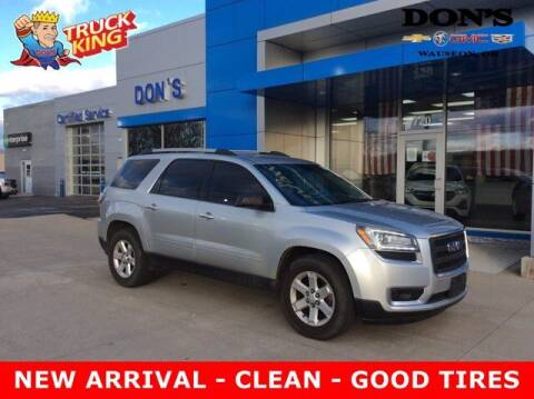 2013 GMC Acadia for sale at DON'S CHEVY, BUICK-GMC & CADILLAC in Wauseon OH
