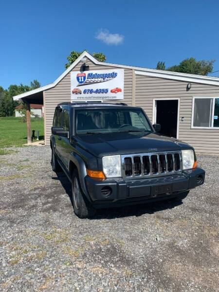 2007 Jeep Commander for sale at ROUTE 11 MOTOR SPORTS in Central Square NY