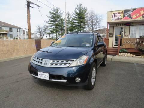 2006 Nissan Murano for sale at Avenel Auto Sales in Avenel NJ