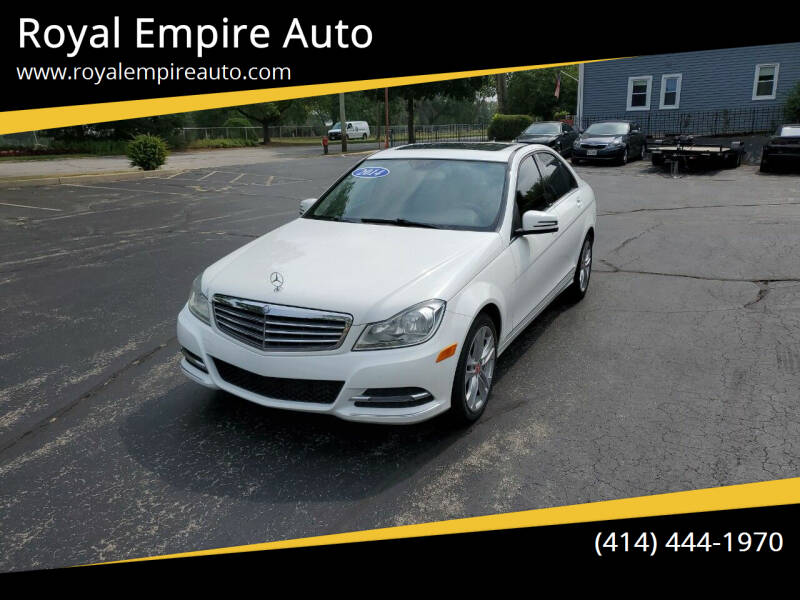 2014 Mercedes-Benz C-Class for sale at Royal Empire Auto in Milwaukee WI