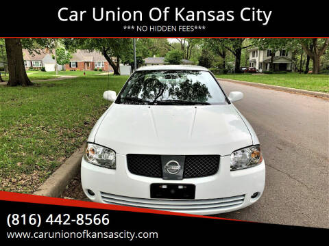 2006 Nissan Sentra for sale at Car Union Of Kansas City in Kansas City MO