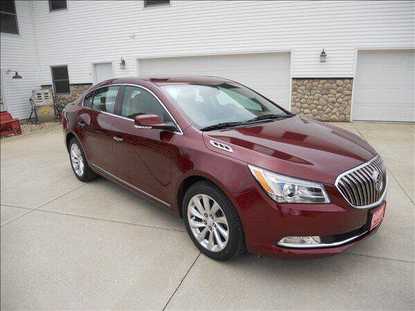 2016 Buick LaCrosse for sale at OLSON AUTO EXCHANGE LLC in Stoughton WI