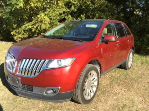 2013 Lincoln MKX for sale at Allen Motor Co in Dallas TX