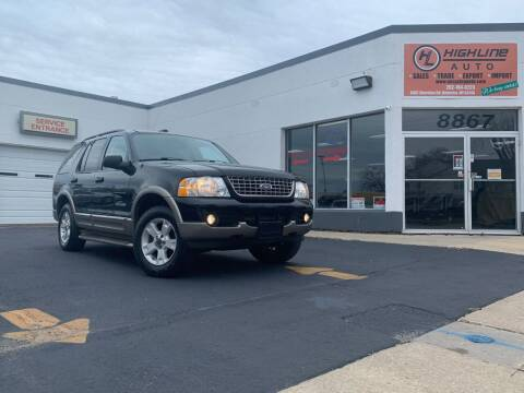 2004 Ford Explorer for sale at HIGHLINE AUTO LLC in Kenosha WI
