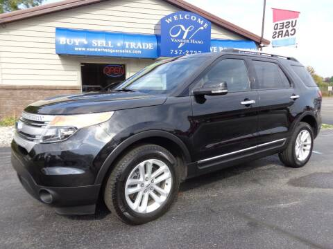 2015 Ford Explorer for sale at VanderHaag Car Sales LLC in Scottville MI