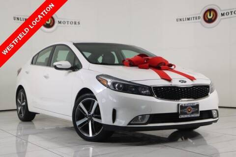 2017 Kia Forte for sale at INDY'S UNLIMITED MOTORS - UNLIMITED MOTORS in Westfield IN