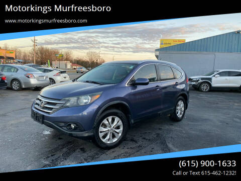 2012 Honda CR-V for sale at Motorkings Murfreesboro in Murfreesboro TN
