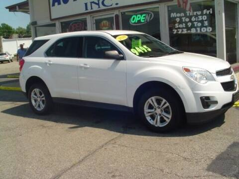 2014 Chevrolet Equinox for sale at G & L Auto Sales Inc in Roseville MI