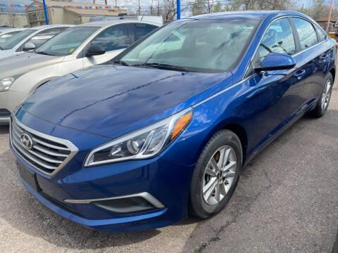 2017 Hyundai Sonata for sale at Nations Auto Inc. II in Denver CO