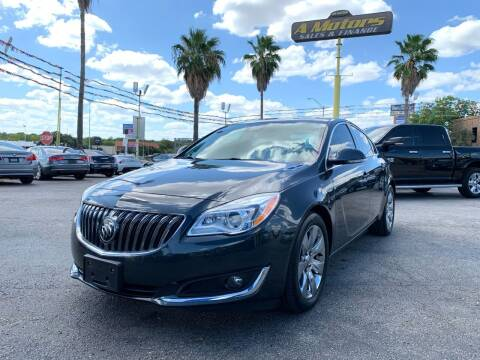 2015 Buick Regal for sale at A MOTORS SALES AND FINANCE in San Antonio TX