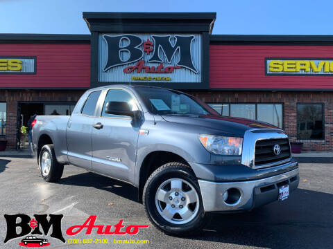 2008 Toyota Tundra for sale at B & M Auto Sales Inc. in Oak Forest IL