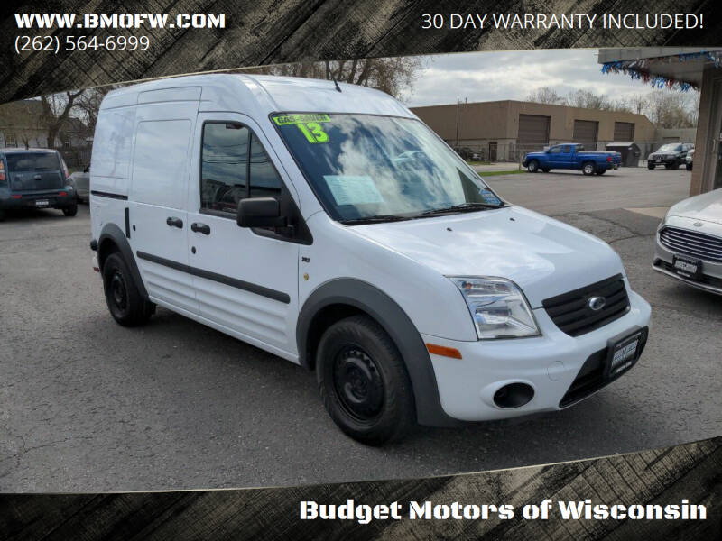 2013 Ford Transit Connect for sale at Budget Motors of Wisconsin in Racine WI