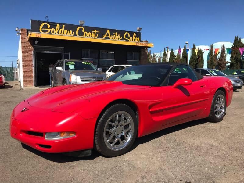 1998 Chevrolet Corvette for sale at Golden Coast Auto Sales in Guadalupe CA