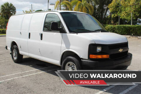 2015 Chevrolet Express Cargo for sale at Truck and Van Outlet in Miami FL