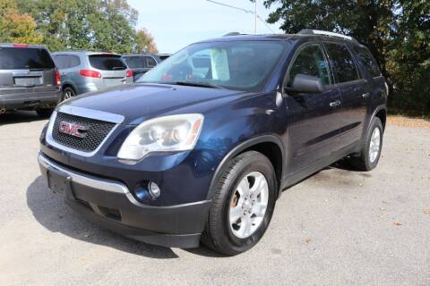 2011 GMC Acadia for sale at Yaab Motor Sales in Plaistow NH