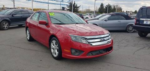 2012 Ford Fusion for sale at I-80 Auto Sales in Hazel Crest IL