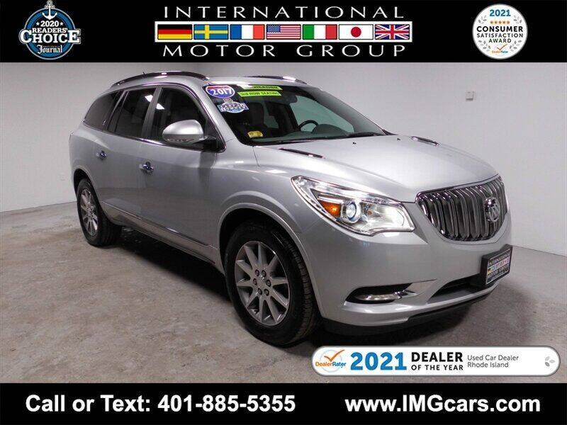 2017 Buick Enclave for sale at International Motor Group in Warwick RI