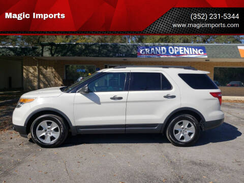 2011 Ford Explorer for sale at Magic Imports in Melrose FL