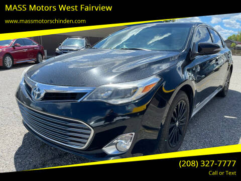 2014 Toyota Avalon Hybrid for sale at MASS Motors West Fairview in Boise ID