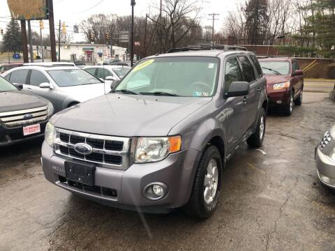 2008 Ford Escape for sale at Six Brothers Auto Sales in Youngstown OH