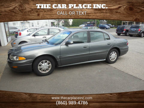 2005 Buick LeSabre for sale at THE CAR PLACE INC. in Somersville CT