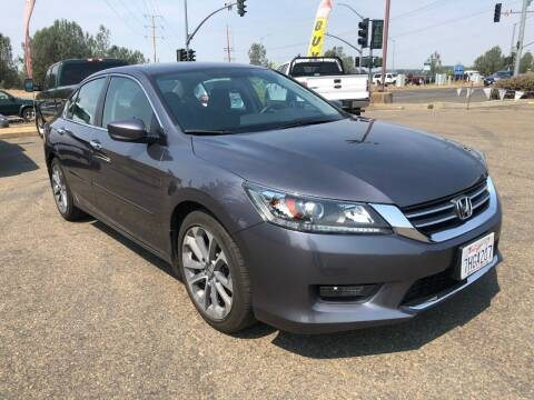 2014 Honda Accord for sale at Deruelle's Auto Sales in Shingle Springs CA