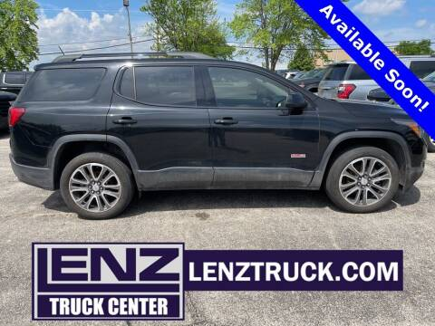 2017 GMC Acadia for sale at LENZ TRUCK CENTER in Fond Du Lac WI