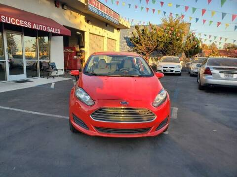 2015 Ford Fiesta for sale at Success Auto Sales & Service in Citrus Heights CA
