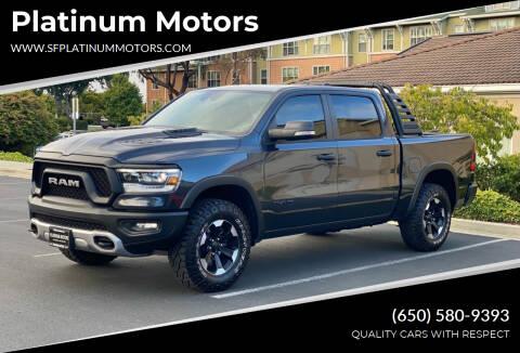 2021 RAM Ram Pickup 1500 for sale at Platinum Motors in San Bruno CA