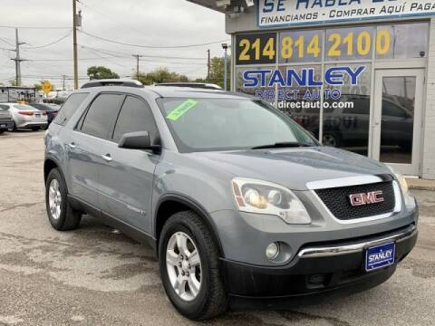 2008 GMC Acadia for sale at Stanley Automotive Finance Enterprise - STANLEY DIRECT AUTO in Mesquite TX