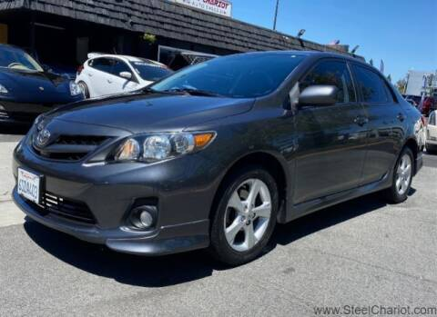 2011 Toyota Corolla for sale at Steel Chariot in San Jose CA