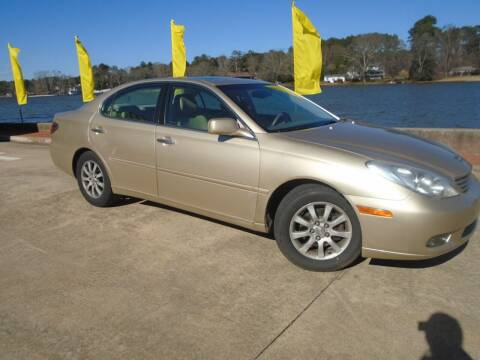 2002 Lexus ES 300 for sale at Lake Carroll Auto Sales in Carrollton GA