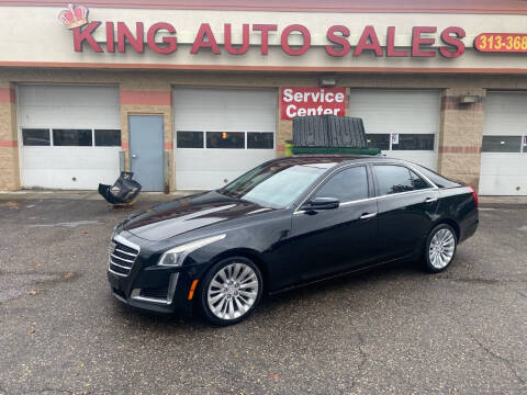 2016 Cadillac CTS for sale at KING AUTO SALES  II in Detroit MI