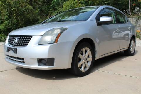 2007 Nissan Sentra for sale at CHIPPERS LUXURY AUTO, INC in Shorewood IL