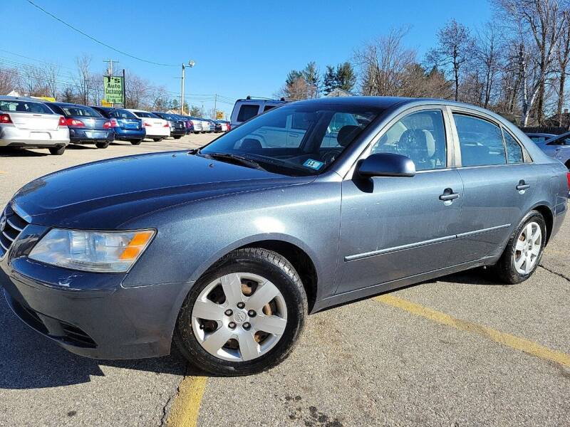 2009 Hyundai Sonata for sale at J's Auto Exchange in Derry NH