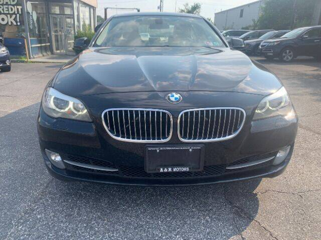 2012 BMW 5 Series for sale at A&R Motors in Baltimore MD