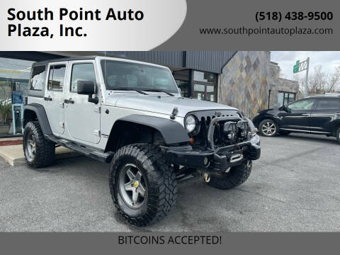 2011 Jeep Wrangler Unlimited for sale at South Point Auto Plaza, Inc. in Albany NY