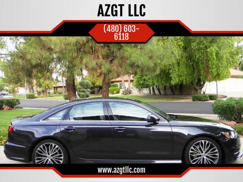 2017 Audi A6 for sale at AZGT LLC in Mesa AZ