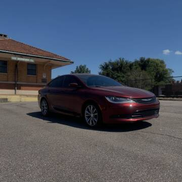 2016 Chrysler 200 for sale at FIRST CLASS AUTO SALES in Bessemer AL